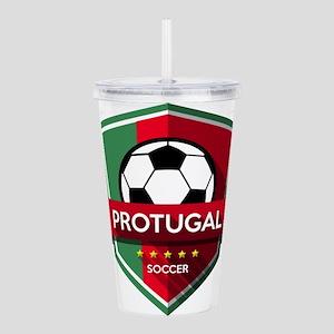 Creative soccer Portug Acrylic Double-wall Tumbler
