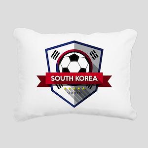 Creative soccer South Ko Rectangular Canvas Pillow
