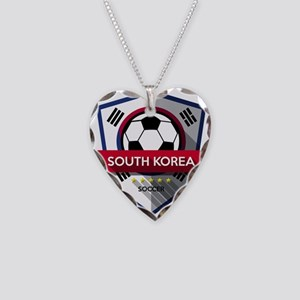 Creative soccer South Korea l Necklace Heart Charm