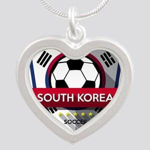Creative soccer South Korea label Necklaces
