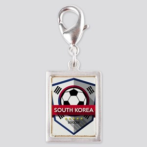 Creative soccer South Korea label Charms