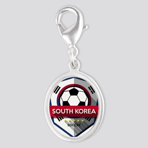 Creative soccer South Korea label Charms