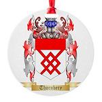 Thornbery Round Ornament