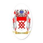 Thornbery Oval Car Magnet