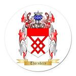 Thornbery Round Car Magnet