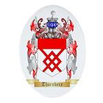 Thornbery Oval Ornament