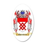 Thornberry 35x21 Oval Wall Decal