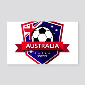 Creative soccer Australia lab Rectangle Car Magnet