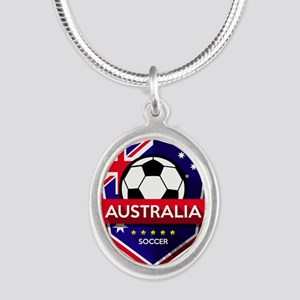 Creative soccer Australia label Necklaces