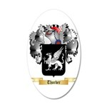 Thorber 35x21 Oval Wall Decal