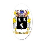 Thorald Oval Car Magnet