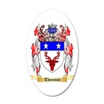 Thomson 20x12 Oval Wall Decal