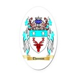 Thomson Scotland Oval Car Magnet