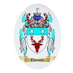 Thomson Scotland Oval Ornament