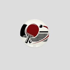 Table tennis sport Mini Button
