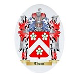 Thoms Oval Ornament