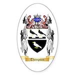 Thompson Sticker (Oval 50 pk)