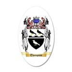 Thompson 20x12 Oval Wall Decal