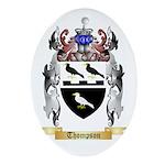 Thompson Oval Ornament