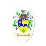 Thompson (Ireland) Oval Car Magnet