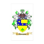Thompson (Ireland) Sticker (Rectangle 10 pk)