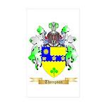 Thompson (Ireland) Sticker (Rectangle 50 pk)