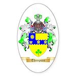 Thompson (Ireland) Sticker (Oval)