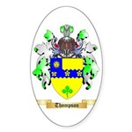 Thompson (Ireland) Sticker (Oval 10 pk)