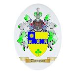 Thompson (Ireland) Oval Ornament