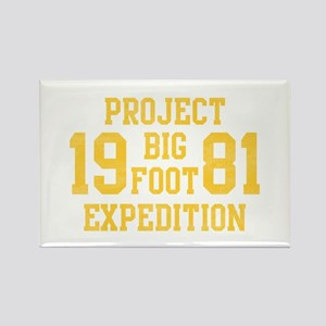 Bigfoot Expedition Rectangle Magnet