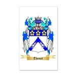 Thomet 20x12 Wall Decal