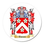 Thomes Round Car Magnet