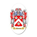 Thomes 35x21 Oval Wall Decal