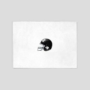 American black football gridiron he 5'x7'Area Rug
