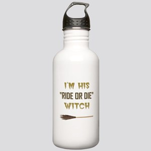 RIDE OR DIE WITCH Water Bottle