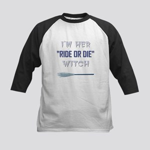 RIDE OR DIE WITCH Baseball Jersey