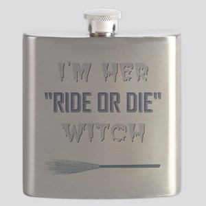 RIDE OR DIE WITCH Flask