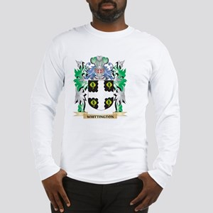 Whittington Coat of Arms - Fam Long Sleeve T-Shirt