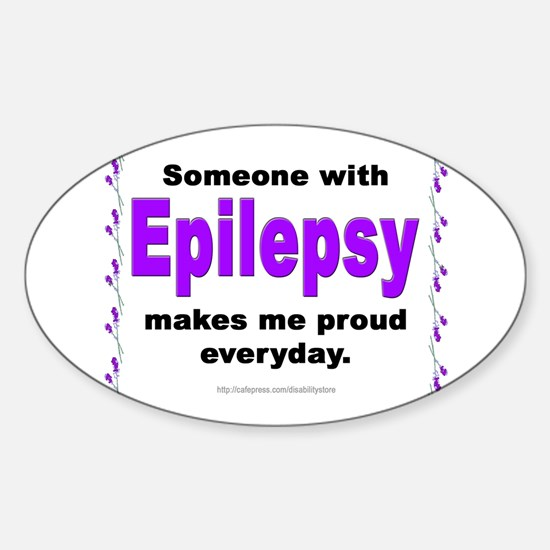 Epilepsy Pride Oval Decal