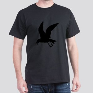 Flying crow silhouette T-Shirt
