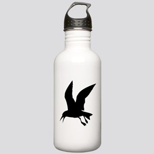 Flying crow silhouette Stainless Water Bottle 1.0L