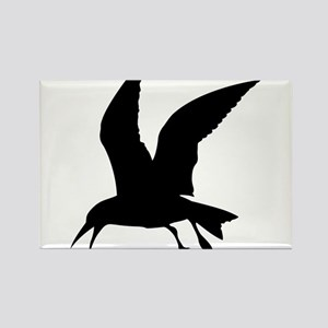 Flying crow silhouette Magnets