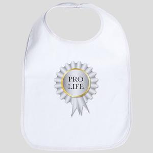Pro Life Rosette Bib