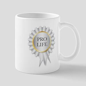 Pro Life Rosette Mugs