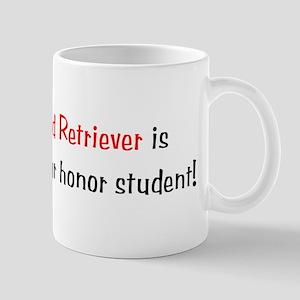 My Flat-Coated Retriever is smarter... Mug