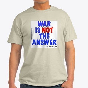 """War No Answer"" Light T-Shirt"