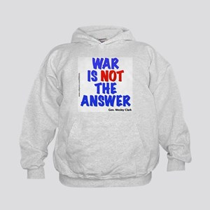 """War No Answer"" Kids Hoodie"