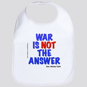 """War No Answer"" Bib"