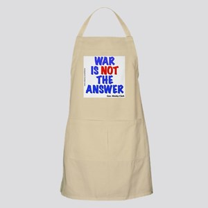 """War No Answer"" BBQ Apron"