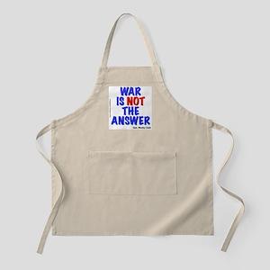 """War No Answer"" BBQ Apron"